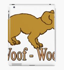 Vinilo o funda para iPad Woof - Woof