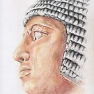Head of an Old Kingdom nobleman by Aakheperure