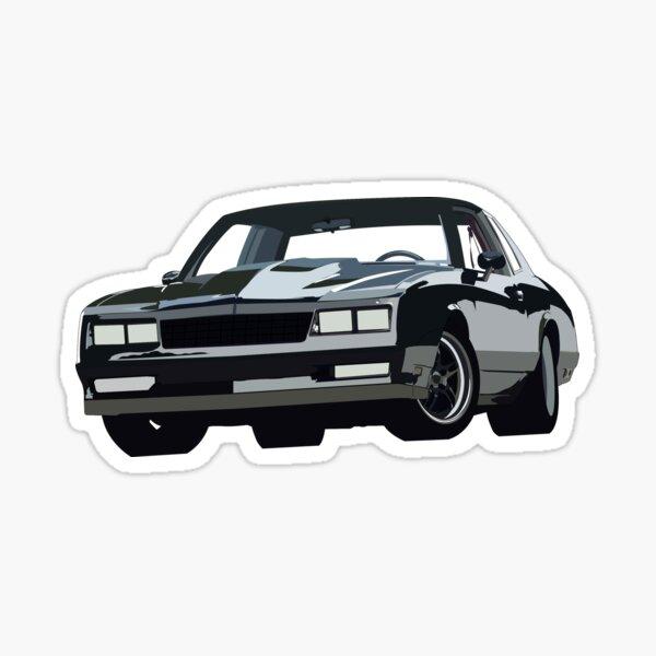 80er Jahre Monte Carlo ss Sticker