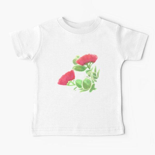 Hawaii Lehua Blossom Red tropical Baby T-Shirt