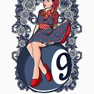 Born Rebel-Pool Hall Girl by Social Wear Design
