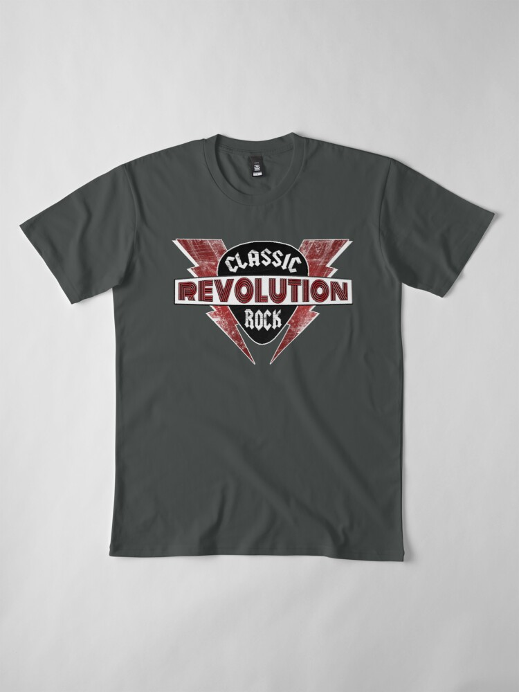 Alternate view of Classic Rock Revolution Premium T-Shirt