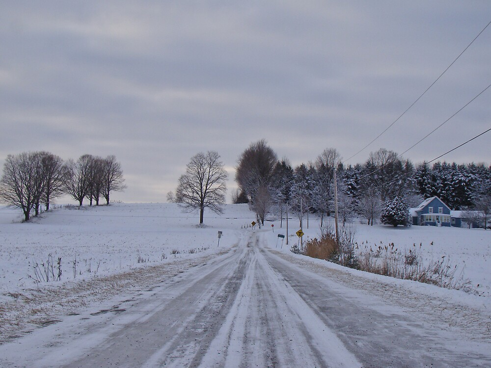 Winter In The Country by marchello