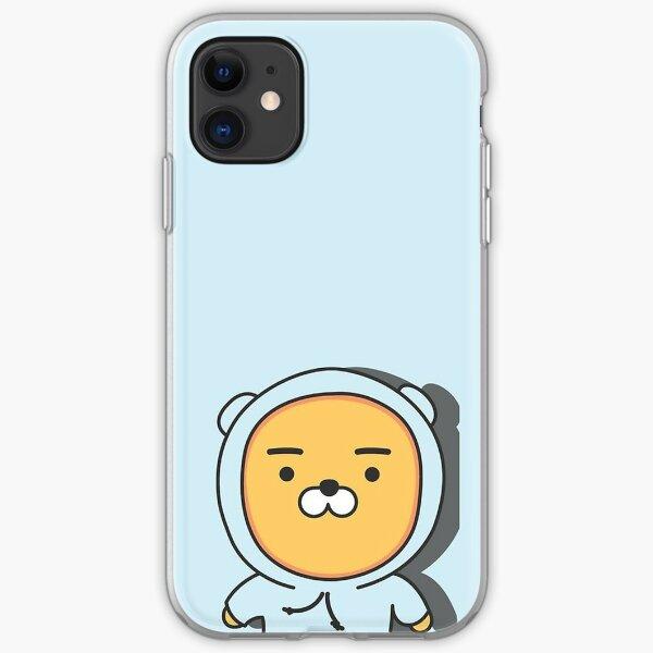 헬로! 라이언 카카오프렌즈 (Hello! Ryan Kakao Friends) iPhone Soft Case
