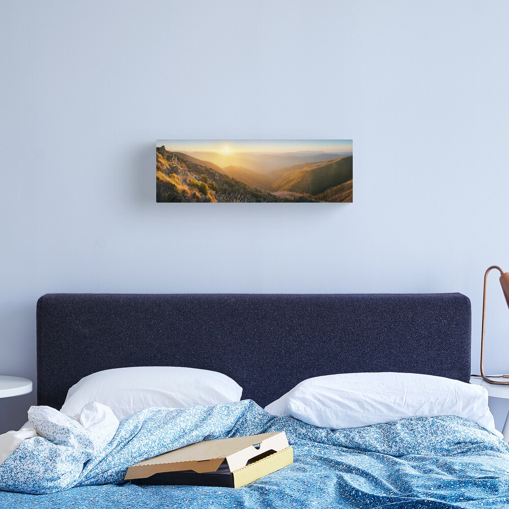 On the Razorback, Mt Hotham, Victoria, Australia Canvas Print