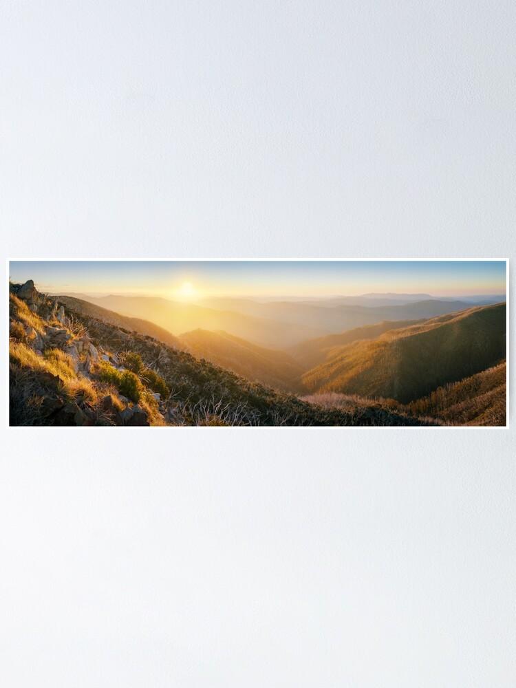 Alternate view of On the Razorback, Mt Hotham, Victoria, Australia Poster
