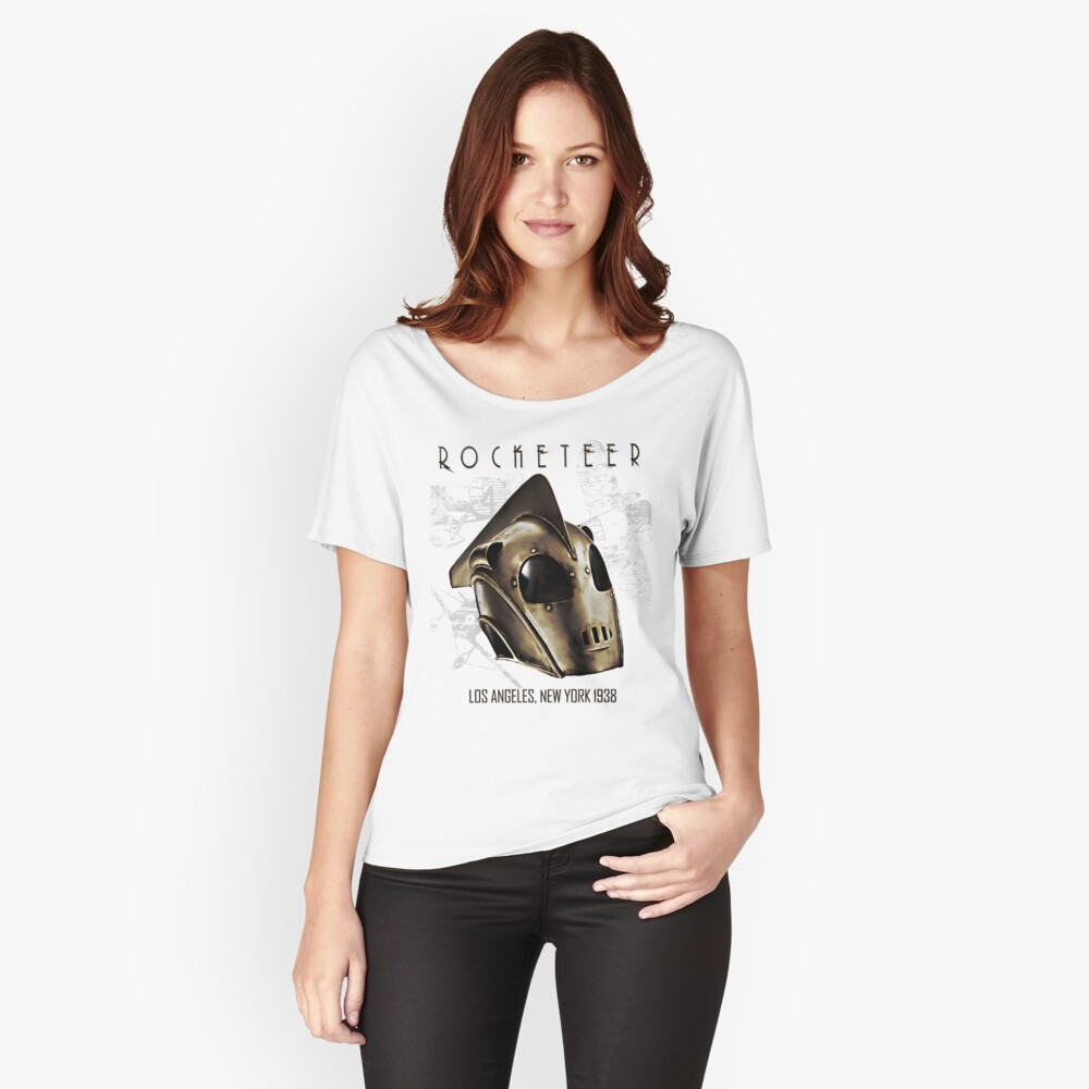 ROCKETEER! Women's Relaxed Fit T-Shirt Front