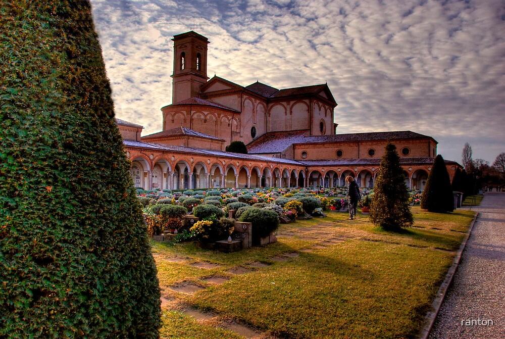 Il cimitero della Certosa di Ferrara (Italy) in HDR by ranton