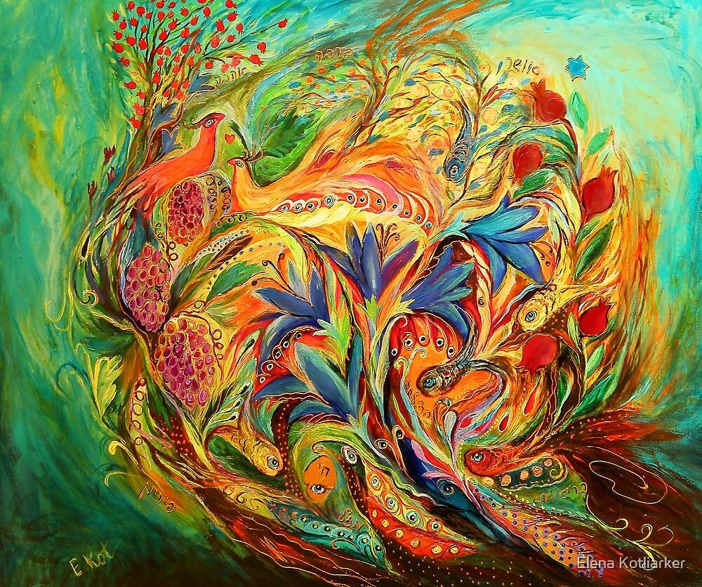 Exotic flowers by Elena Kotliarker