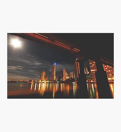 MOON LIGHT DELIGHT Photographic Print