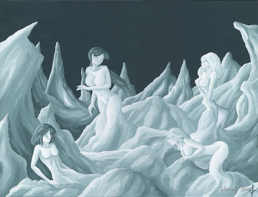 Brunes et blondes by Lionel Tosan