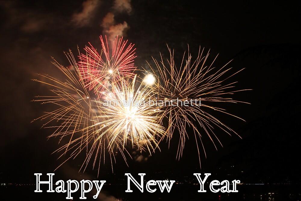 Happy New Year by annalisa bianchetti