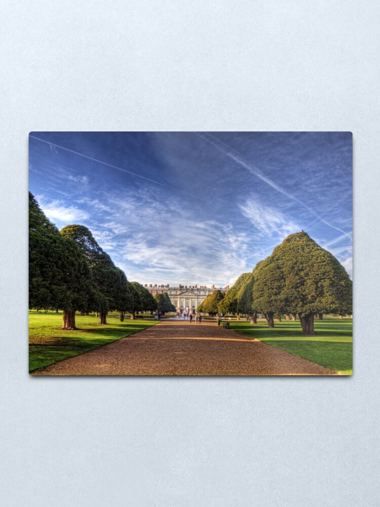 Alternate view of Hampton Court Palace Metal Print