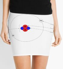 Bohr Model of Helium #BohrModelofHelium #BohrModel #Bohr #Model #HeliumAtom #electron #proton #neutron #nucleus #atom #helium #chemistry #illustration #molecular #science #research #particle #symbol Mini Skirt