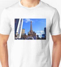 Eiffel Tower Las Vegas Unisex T-Shirt