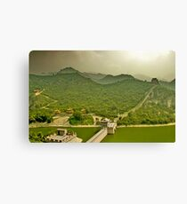 the great wall Canvas Print