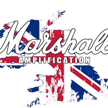 Marshall Amp UK - Black / White by mugenjyaj