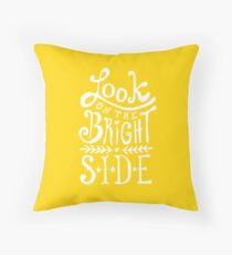 Look On The Bright Side Floor Pillow