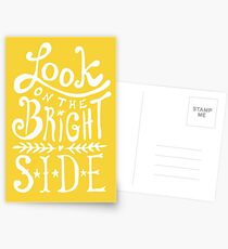 Look On The Bright Side Postcards