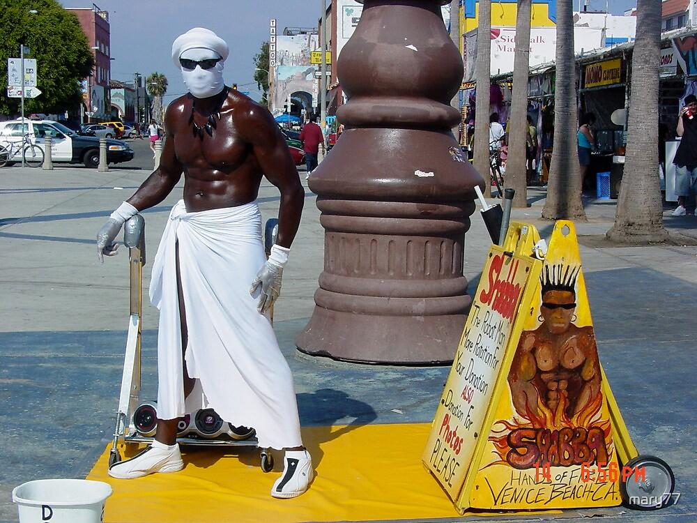 Shabba Man at Venice Beach  by mary77