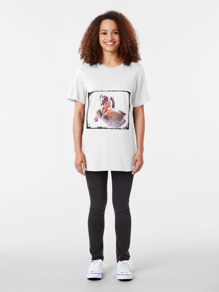 Alternate view of Goat Grunge Slim Fit T-Shirt