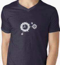 Clockwork [DARK] Men's V-Neck T-Shirt