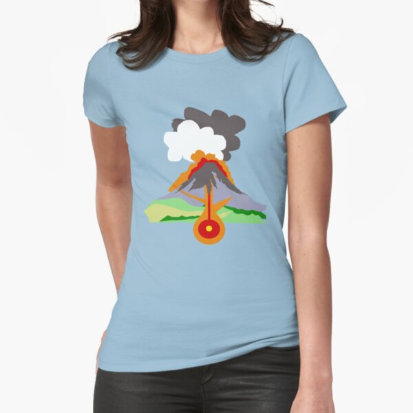 Volcano Fitted T-Shirt
