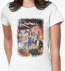 Ravage Graphic Novel Cover Art Women's Fitted T-Shirt