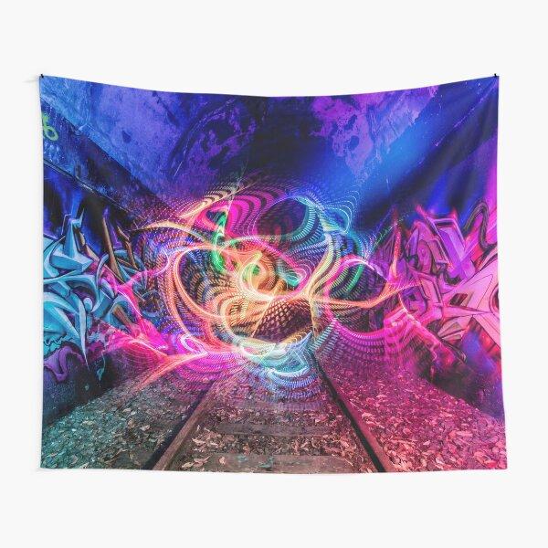 Light Graffiti Tapestry