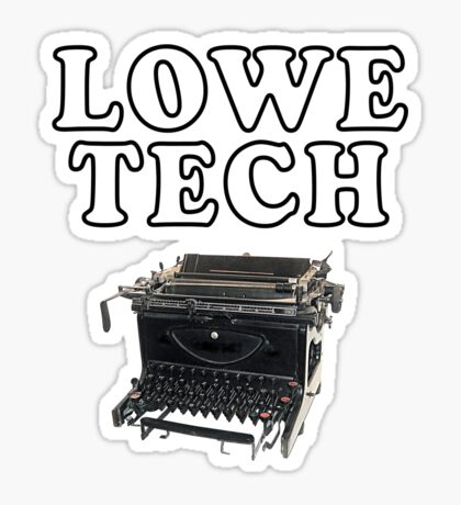 Lowe Tech Sticker