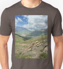 a large Uzbekistan landscape Unisex T-Shirt