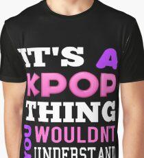 A KPOP THING - BLACK Graphic T-Shirt