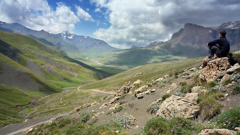 a large Uzbekistan landscape by beautifulscenes