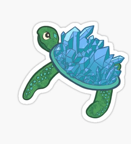 Crysturtle Sticker