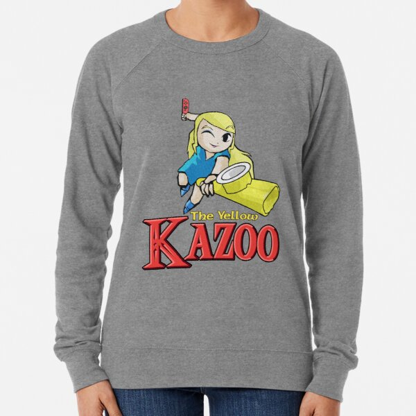 The Legend of Kazelda (with text) Lightweight Sweatshirt