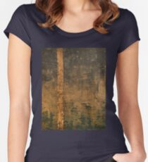 Aries' Falling Women's Fitted Scoop T-Shirt