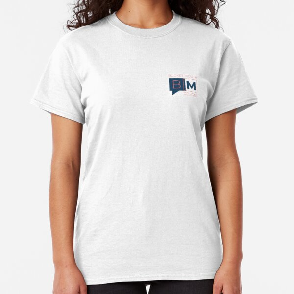 Bucket Mouth Designs Logo (Small) Classic T-Shirt