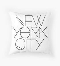 Cojín Nueva York.