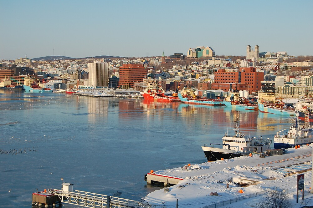 Ice in the Harbour by keithnoseworthy