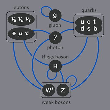 Standard Model Particles Higgs Boson Physics Theory  by TheCreekMan