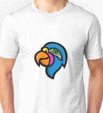 Parrot Head Mascot Unisex T-Shirt