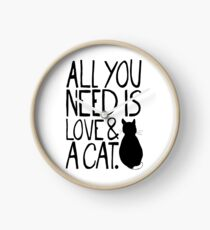 All You Need Is Love and A Cat Clock