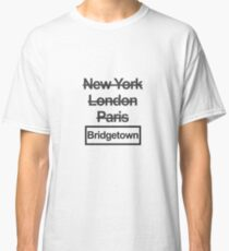 Bridgetown Barbados City Text design Classic T-Shirt