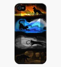 Warrior Cats: Four Elements, Four Clans iPhone 4s/4 Case