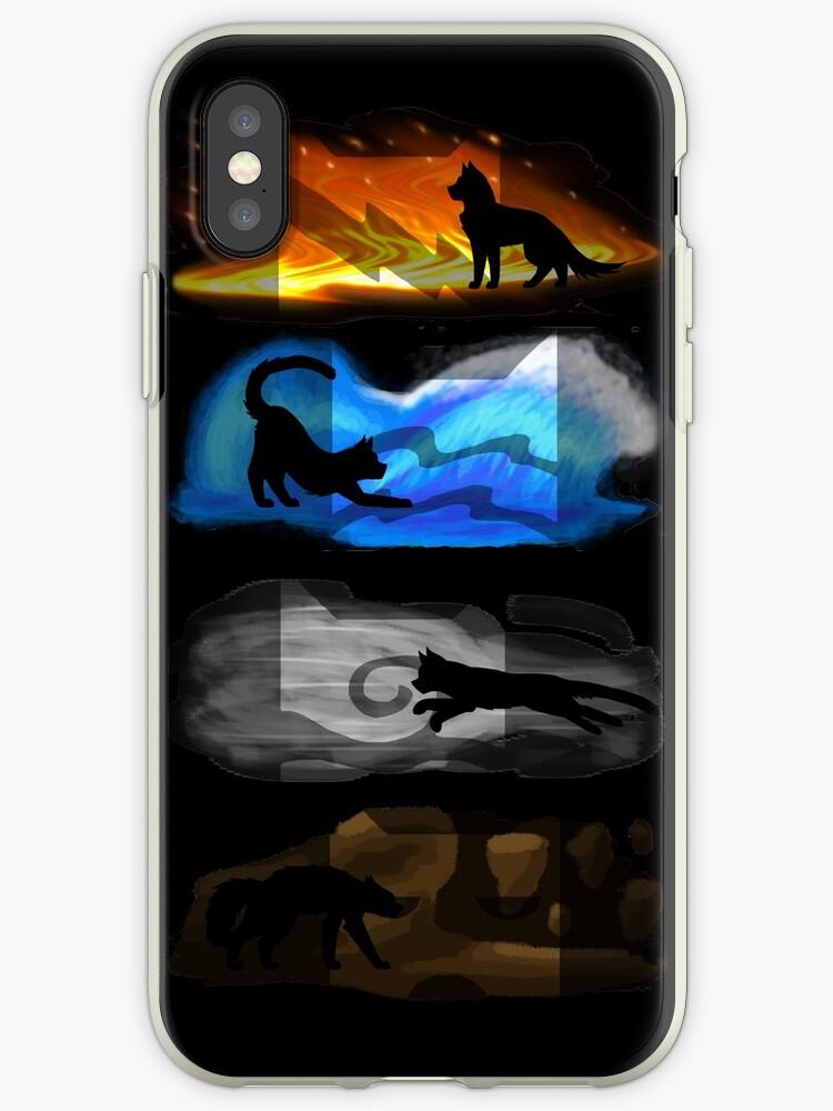 Warrior Cats: Four Elements, Four Clans by Kara Hatton