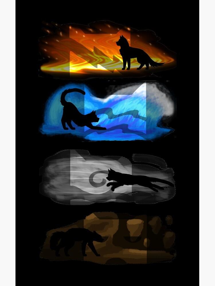 Gatos guerreros: cuatro elementos, cuatro clanes de PopeyeCore1