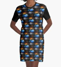 Warrior Cats: Four Elements, Four Clans Graphic T-Shirt Dress