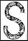 The letter S by Jenny Wood