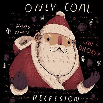 recession santa by louros