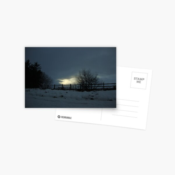 follow the light Postcard